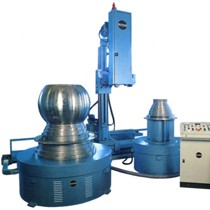 Lipping machines with rotary table for ball valve edges