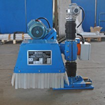 Tube weld brushing machines with column Mod. UP